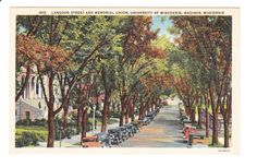 University of Wisconsin Madison Vintage Postcard by PicturesFromThePast