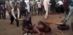 Two suspected homosexuals, Orji Odinaka, 32, and Ejineme Nonso, 22, are being held by the police in Enugu State.