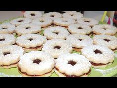 Plätzchen sau fursecuri nemţeşti cu dulceaţă - YouTube Sandwich Cookies, Cake Cookies, Romanian Desserts, Doughnut, Sandwiches, Sweets, Food, Videos, Youtube