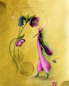 Artist Gaelle Boissonnard