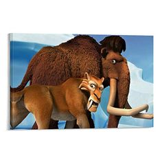 Wall Art Pictures, Print Pictures, Ice Age Movies, Modern Family, Scooby Doo, Canvas Art, Bedroom Decor, Poster Prints, Wallpaper