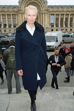 Tilda Swinton in Acne Studios | Tom & Lorenzo Fabulous & Opinionated