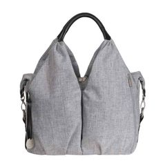 Lassig Green Label Neckline Diaper Bag - Choco Melange online, made from recycled materials are both eco friendly and stylish. Buy Lassig at the best diaper bag store in Canada -. Chic Diaper Bag, Black Diaper Bag, Best Diaper Bag, Diaper Bags, Changing Bag, Urban Chic, Shopper, Baby Gear, Cross Body