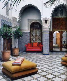 Восточный интерьер деко | Марокканский интерьер и марокканский ...