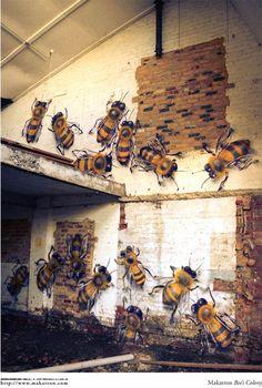 Makatron, Bee colony