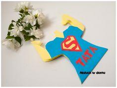 Kartka Supertaty na Dzień Ojca + szablon