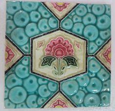 VINTAGE Ceramic Tile 6 \