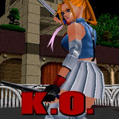 Lisa's winning animation, from 'Last Bronx' in Arcades. Retro Video Games, Video Game Art, Low Poly Games, Japanese Video Games, Game Character Design, Aesthetic Grunge, Pixel Art, Cool Designs, Animation