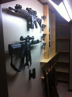 Image gallery shtf room for Hidden gun room