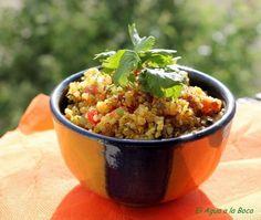 Tabulé de quinoa con zaatar, Receta Petitchef