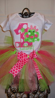 Frog theme http://www.etsy.com/listing/109336886/boutique-first-birthday-princess-frog