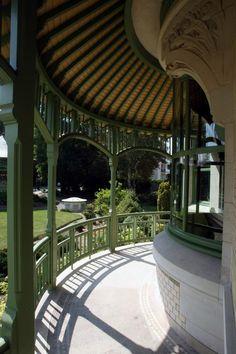 Art Nouveau - Villa Demoiselle - Reims - Extérieurs - Loggia