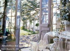 Practical Magic.....the conservatory