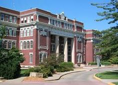 My home away from home: Plumb Hall on the campus of Emporia State University.