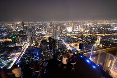 Bangkok looks incredible from this high up!