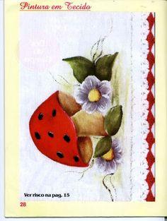 Pintura em tecido N1 - 1 - lourdes - Álbuns da web do Picasa