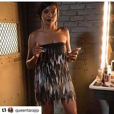 #Repost @queentarajip with @repostapp  Lols like she's about to pop off.  EmpireBBK.com
