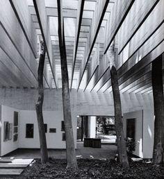 Fehn, Sverre: Nordic Pavilion, Venice, Italy: Architecture, Across the landscape | The Red List