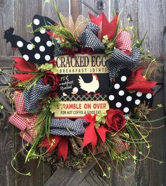 Everyday Wreath All Season Wreath Door Wreath by BaBamWreaths
