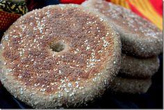 pain l'orge, khobz ch3ir, barley bread