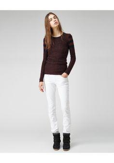 Etoile Isabel Marant / Flynn Stripe Knit | La Garconne