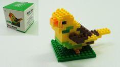 Micro Parrot Block Dog Mickey Angry Birds Spongebob Donald Duck Toys Dol...