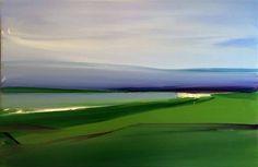Camilla West - Landscape 2/4 - 40x60 cm - olie på lærred - 2015