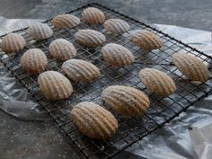 Get Almond Madeleines Recipe from Cooking Channel