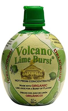 Dream Foods International Volcano Lime Burst, 6.7-Ounce Containers (Pack of 12) * Check out the image by visiting the link.