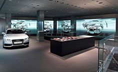 Audi is proposing a novel shopping experience with its new digital 'cyberstore' concept, using the very latest digital technology to create an immersive environment for car buyers. The first 'Audi City' store has just opened in London, but Wallpaper* f...