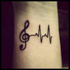 Music is my heartbeat indeed