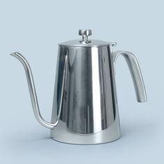 """KINTO #Kaffeekanne Kettle 900 ml aus der Serie """"Slow Coffee Style"""" bietet die ideale Lösung für jeden #zeroWaste Haushalt:  - elegant - puristisch - hochwertig - komplett aus Edelstahl. Du bekommst sie bei uns im 11ie_shop."""