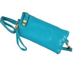 New Fashion Retro Women Clutch Chain PU Leather Handbag Purse Tote Shoulder Hand Bag 6 Colors