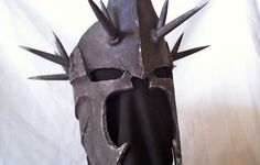 Blind Squirrel Props | Lord Of The Rings: Helm Of The Witchking (Cardboard, Bondo, Paint)