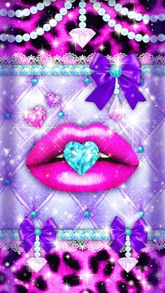 Open Fonts, Glitter Lips, Free Coupons, New Theme, App, Wallpaper, Creative, Kisses, Wallpapers