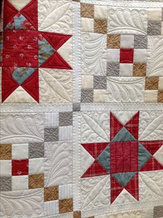 Quilted by Renee Sauve of Log Cabin Quilter