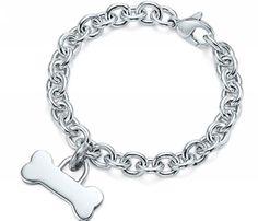 Tiffany Dog Bone Charm and Bracelet- WANT!!!!!!!