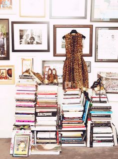 Love that dress! At home with : Aurelie Bidermann by {this is glamorous}, via Flickr