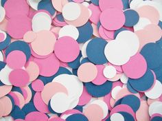 Confetti nautical sail away pink hot pink by NancysBannerBoutique, $7.00