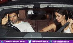 The Bollywood movie couple is suspiciously going to be the real life couple as the rumors has caught Aditya Roy Kapur who is dating with Katrina Kaif in Mumbai apparently on dinner date on Monday night.