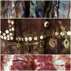 India Flint Natural Dye Fabric, Natural Dyeing, India Flint, How To Dye Fabric, Dyeing Fabric, Fabric Manipulation, Textile Art, Fiber Art, Projects To Try