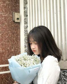 Hey Girl, Boy Or Girl, Cute Girls, Cool Girl, Perfect Selfie, Ulzzang Girl, Hot Boys, Flowers In Hair, Asian Girl