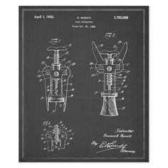Vintage Blueprints for Famous Inventions