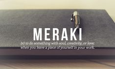 Beautiful Words That The English Language Should Steal - Greek  Meraki . DesignTAXI.com