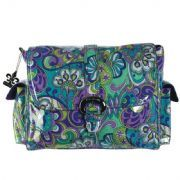 Kalencom Buckle Bag Luxury Changing Bag Russian Floral Blue £55.00