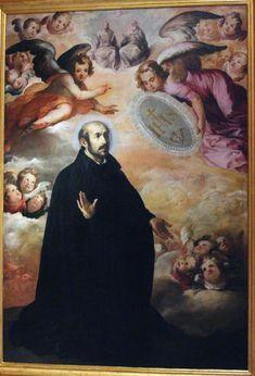 "theraccolta: ""Glorification of St. Ignatius of Loyola, Francisco Herrera el Viejo """