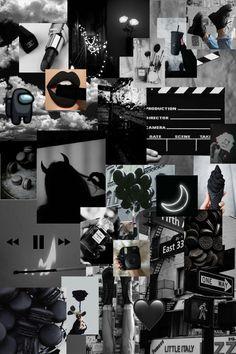 Cute Black Wallpaper, Purple Wallpaper Iphone, Cute Patterns Wallpaper, Iphone Background Wallpaper, Galaxy Wallpaper, Iphone Wallpaper Themes, Iphone Wallpaper Tumblr Aesthetic, Black Aesthetic Wallpaper, Black Wallpapers Tumblr