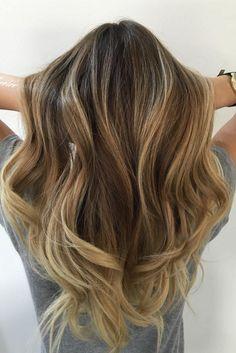 Healthy Long Ombre Hair on @lo_wheelhouse <3