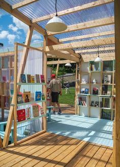 Classroom Architecture, Wooden Architecture, Architecture Concept Drawings, Landscape Architecture, Architecture Design, Urban Furniture, Street Furniture, Temporary Architecture, New Urbanism