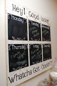 """Probably wouldn't do a """"Menu Board"""" as i don't cook but maybe a """"Memo Board"""" Tutorial"""